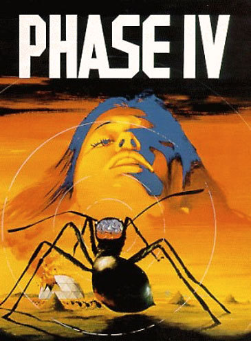 Saul Bass: Phase IV (1974) Hands down one of the most unjustly neglected Sci-Fi flicks of the 70's. Phase IV had a lot going for it: mysterious cosmic events, bizarre behavior of ants, alien-like constructions found in the desert… It was directed by Saul Bass, renowned title designer that worked with Alfred Hitchcock and Martin Scorsese (which it certainly shows in the film), starred well established actors Nigel Davenport and Michael Murphy, and the electronic soundtrack by Brian Gascoigne was a marvel by itself. read more or watch the trailer on youtube.