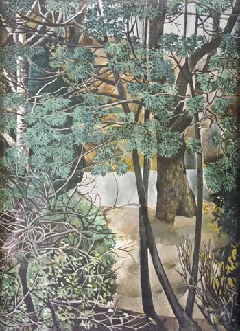 View through Trees, Oil,  Patrick Swift (1927-83), 1950s