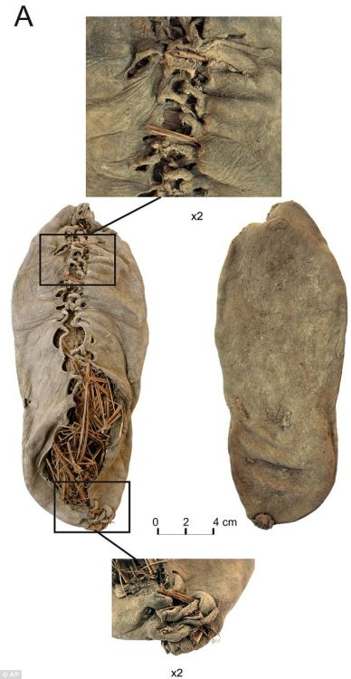 Check out this 5,000 year old leather shoe…