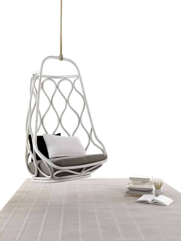 onminimalism:  Nautica Hanging Chair by Mut Desing