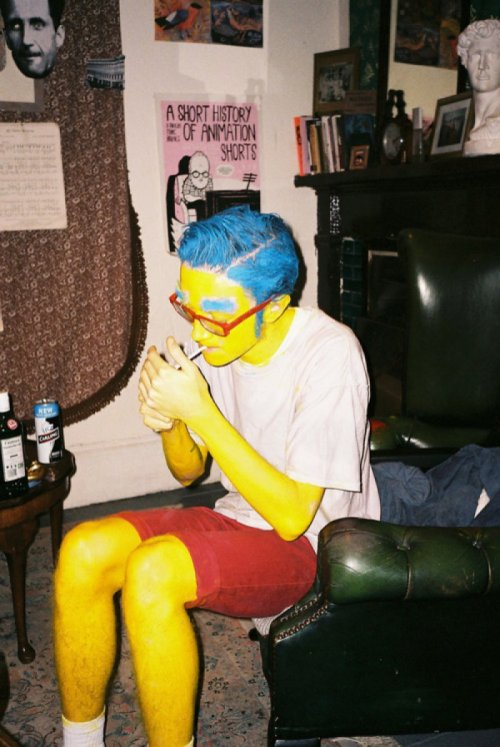"collegehumor:   Cool Milhouse   ""Why didn't we smoke the bowl, Bart? Why didn't we smoke the bowl?"""