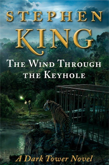 "Less than one month til Stephen King's new Dark Tower Series novel, The Wind Through the Keyhole, is on sale! Who's excited? ""Pitch-perfect….Even those who aren't familiar with the series will find the conclusion both satisfying and moving. This gripping novel is sure to put King back on the bestseller lists."" - Publishers Weekly"
