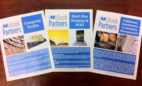 We've printed our new brochures!