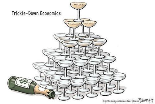 The truth about failed conservative Trickle-Down economics.