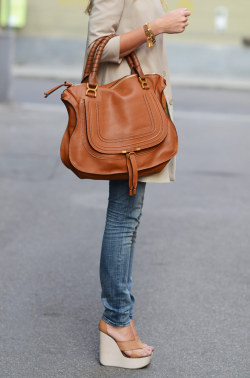 from The Blonde Salad: Chloe Marcie Bag, Chloe Shoes & 7 For All Mankind Jeans