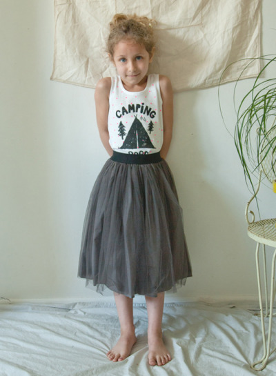 Bobo Choses Camping Tank SSOM Long Tutu Skirt