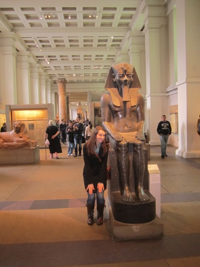 Walk like an Egyptian :) British museum