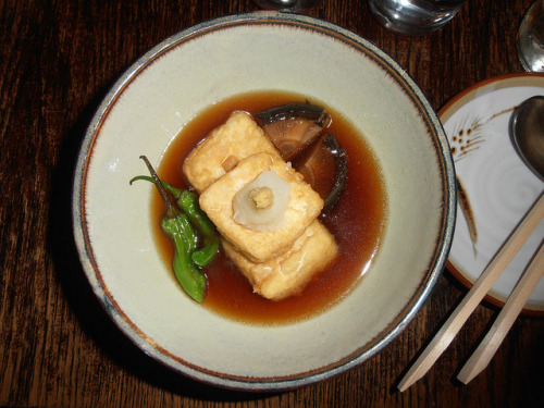 Hibino, Agedashi Tofu on Flickr.