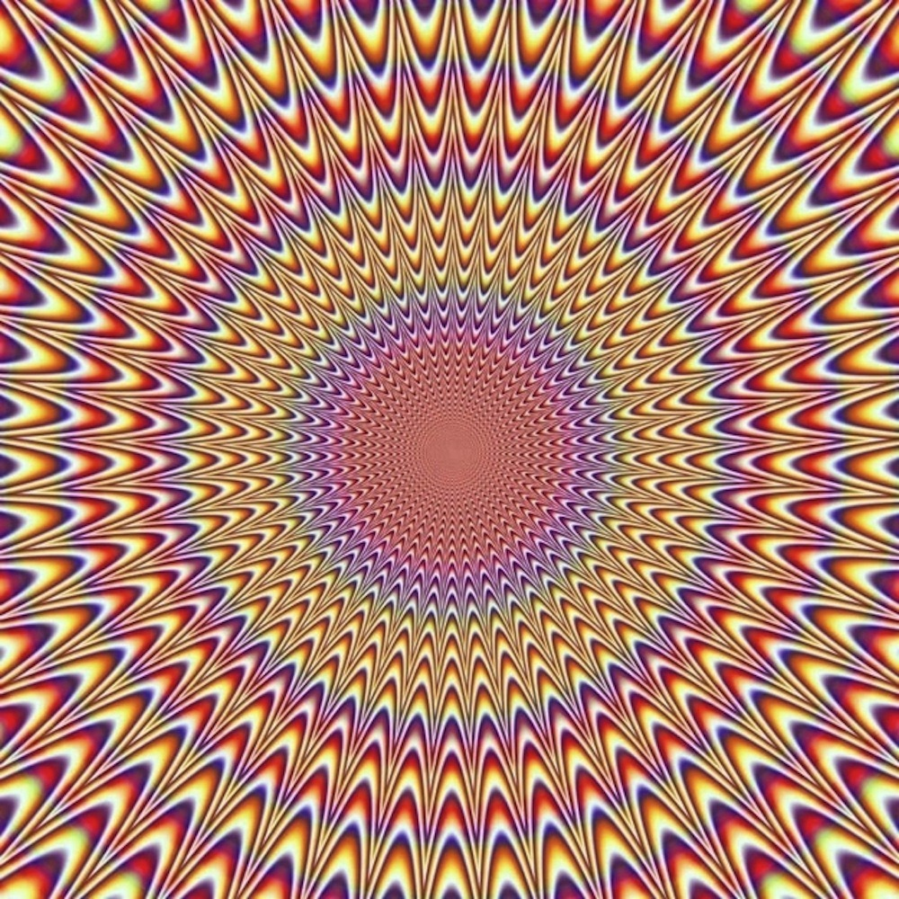 "jtotheizzoe:  Take a pause and experience this optical illusion. My brain, it hurts. Warning: May induce acid flashbacks/frustrating ""WTFs?"""