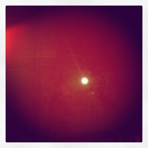 day 23 | moon #marchphotoaday @fatmumslim #marchphotochallenge #photooftheday #moon #windowview #dark #fullmoon #night (Taken with instagram)