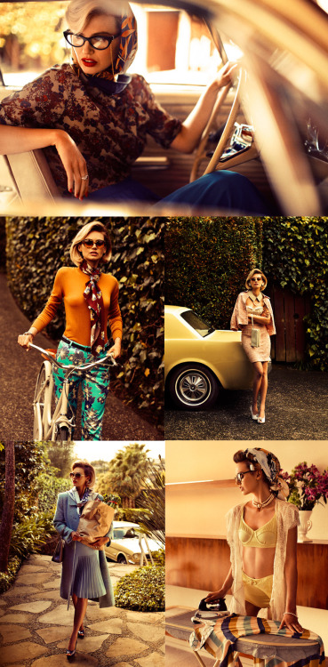 "60's themed editorial for Fashion Quarterly New Zealand, ""American Dream"" by Steve Chee. I really want those teal pants! :) Via Jelanie's blog"