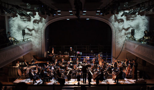"Recent Shows: Brooklyn Philharmonic & Brooklyn Youth Chorus at Roulette in Brooklyn. Stand out compositon was Matthew Mehlan's ""Canvas."""