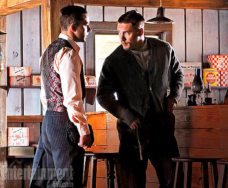 Shia LaBeouf and Tom Hardy in the upcoming Lawless