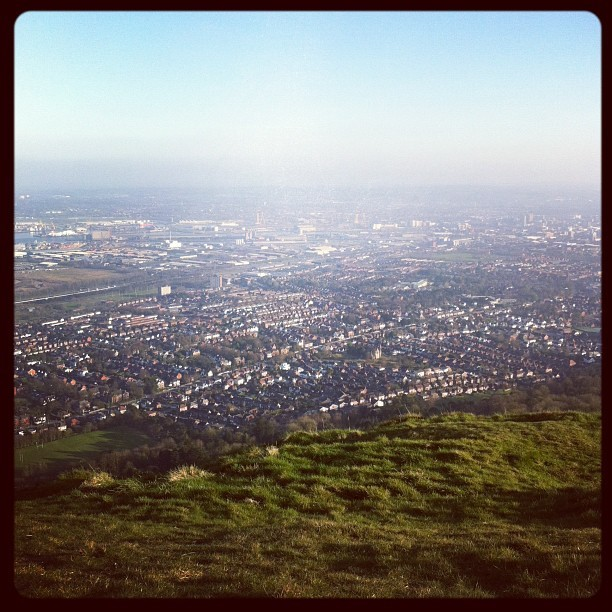 Finally reached the top of Cave Hill (Taken with instagram)