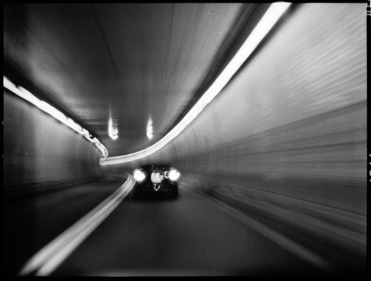 Holland Tunnel Hasselblad 500C/M (A16 back) Zeiss Prontor CF T* 80mm f/2.8 Ilford Delta Pro 3200 Kodak D-76 CanoScan 8800F