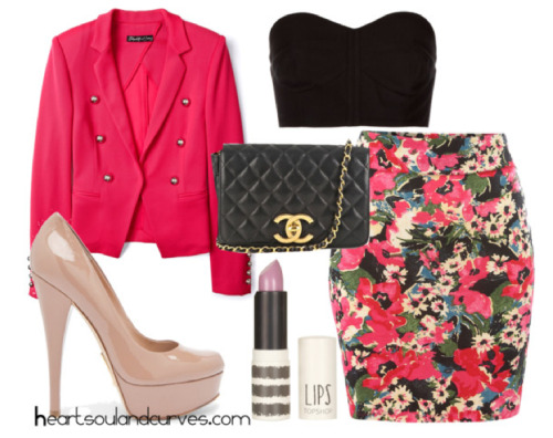 heartsoulandcurves:  Smell The Flowers…. If I was your stylist