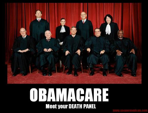 Obamacare. You will be JUDGED.