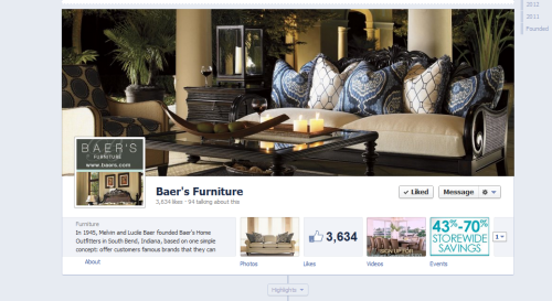 We made the switch to the new Facebook Timeline!