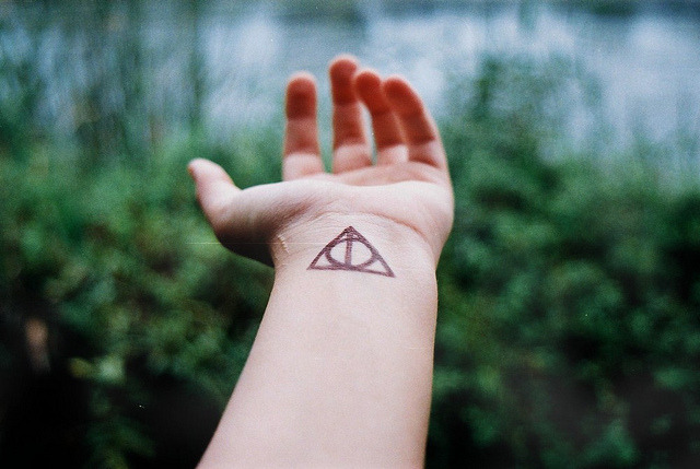 Deathly Hallows by Fani Alcudia on Flickr.
