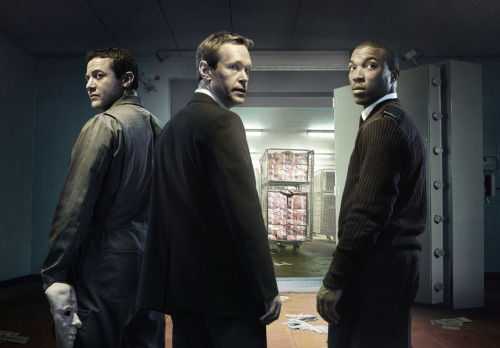 New Multi-Million Pound Heist Series - INSIDE MEN - Coming to BBC AMERICA in June  Luther's Steven Mackintosh, Warren Brown and Hustle's Ashley Walters star Told entirely from their perspective, INSIDE MEN is the story of three employees of a security depot who plan and execute a multi-million pound cash heist. About the characters: This new four-part drama stars Steven Mackintosh as John, manager of the cash counting house, a character too scared to confront the humdrum normality of his life. Joining him in the robbery is depot security guard Chris, played by Ashley Walters, and forklift driver Marcus, played by Warren Brown. They are not seasoned criminals. They are everyday, hard-working men who see an opportunity, weigh up the risks, and take a leap. The series is written by Tony Basgallop and Hilary Salmon is the executive producer. Inside Men premieres Wednesday, June 20, 10:00p.m. ET/PT as part of Dramaville on BBC AMERICA.