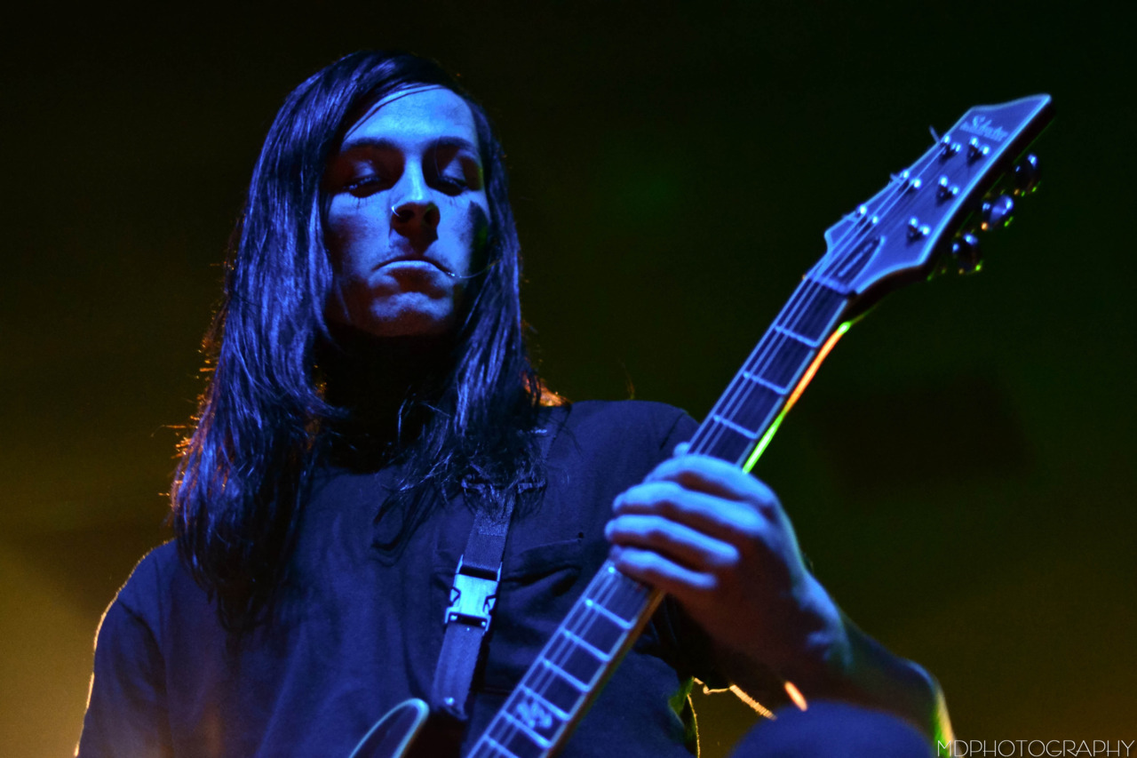 Ryan Sitkowski / Motionless In White - Still Reckless tour / San Diego, CA