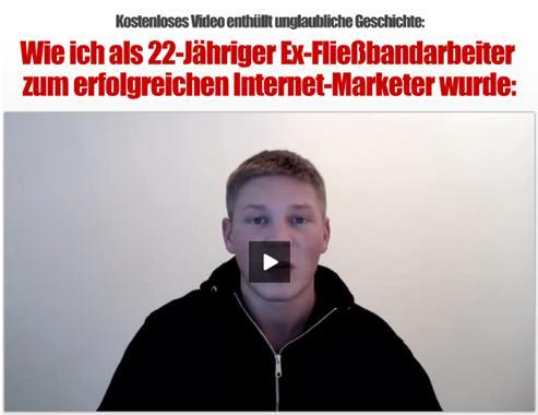 Video von Kris Stelljes über Affiliate Marketing