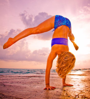 A cheap trick: handstand, backbends, and the deeper dimension of yoga…