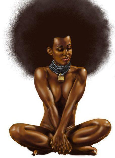 perfectlillady:  Goddess… princegeedorah:  Beautiful Artwork of a Nubian Goddess