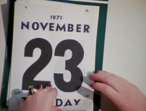 November 23 From Women in Revolt (dir. Paul Morrissey, 1971)