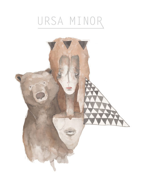 matthewkocanda:  Poster design for my Ursa Minor painting.  So freaking good.