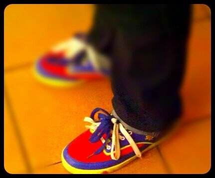 Justin's shoes (from @Dj.Amen94 on Streamzoo)