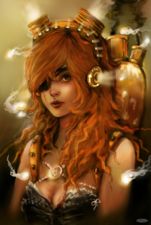 creaturesfromdreams:  Steampunk souls by ~DZIU09 —-x—- More: | Steampunk | Random |