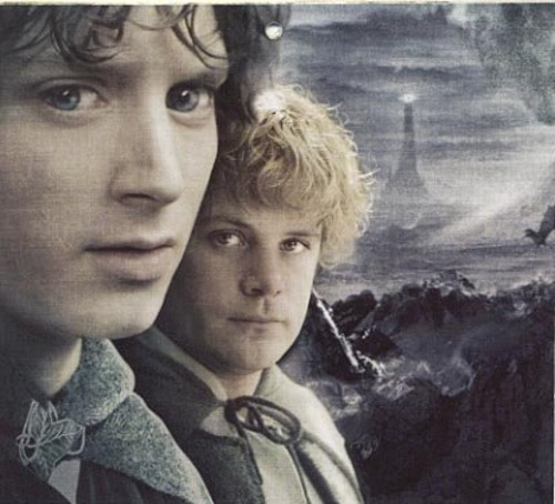 barrowdowns:  Frodo and Sam, Mordor.