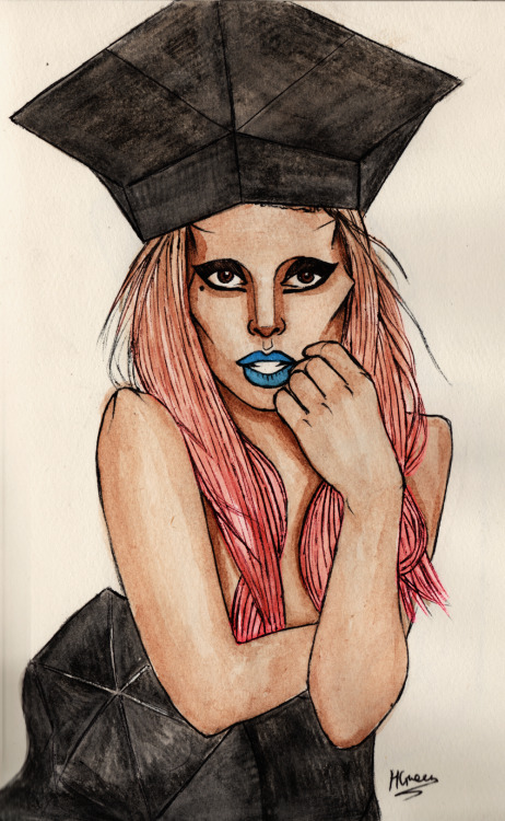 Gaga (other drawing from my shirt design entry)