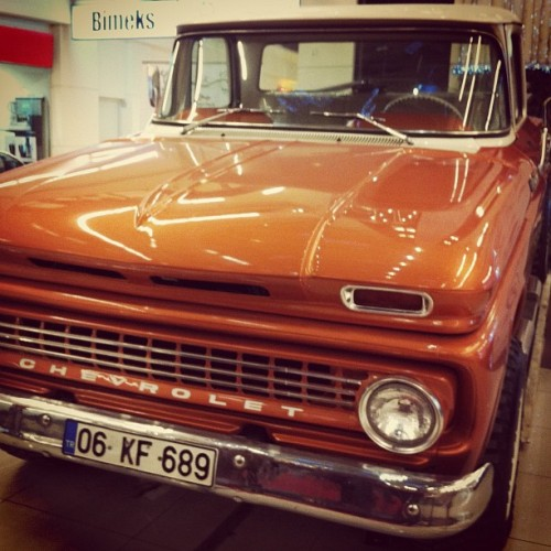 1963 Chevrolet Apache, Kayseri, Turkey (Taken with instagram)