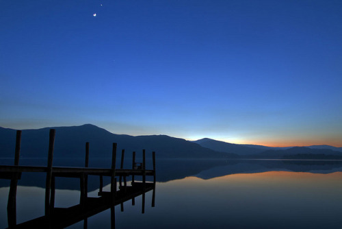 Derwentwater Afterglow. by 47mki on Flickr.