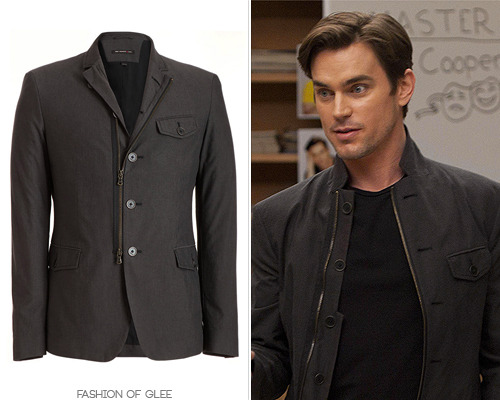 John Varvatos Convertible Zip Front Jacket - $450.00