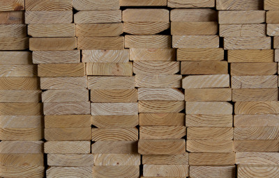 Lumber, you can look at a board and tell how fast or slow the tree grew.