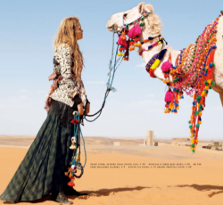 Fashion forward camel
