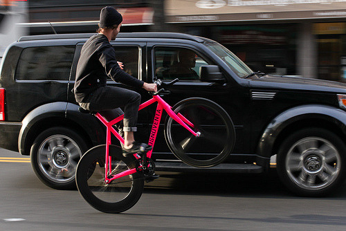 titsandtires:  Clary Wheelie (by John Prolly)