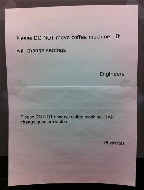 Ohhh, scientists. :)