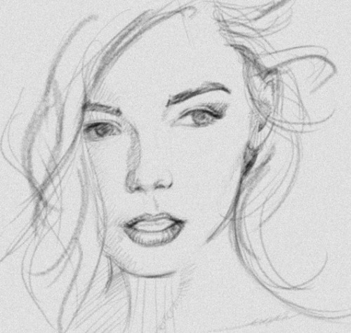 Still not happy with it but I seldom am with my own drawings. #sketch #facial
