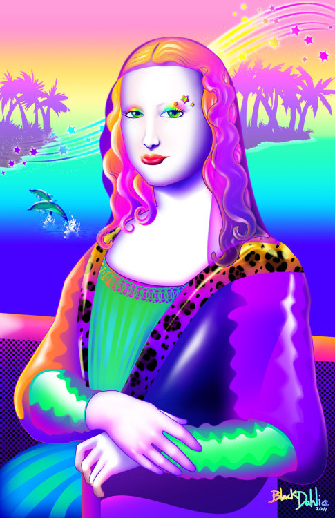 ickynicky:  It's a fucking Mona Lisa Frank.