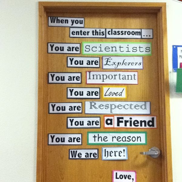 :) Something I'd like to put on my door