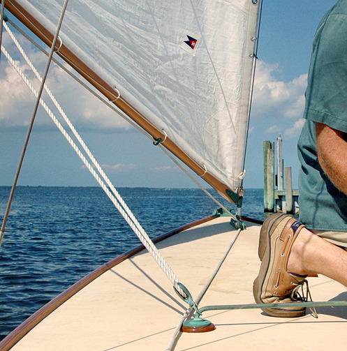 howieguja:  Sailing on Great South Bay