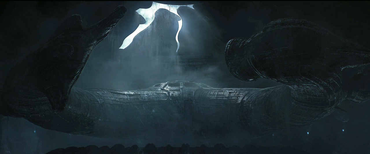 Ship from Ridley Scott's Prometheus, written by Damon Lindelof & Jon Spaihts.
