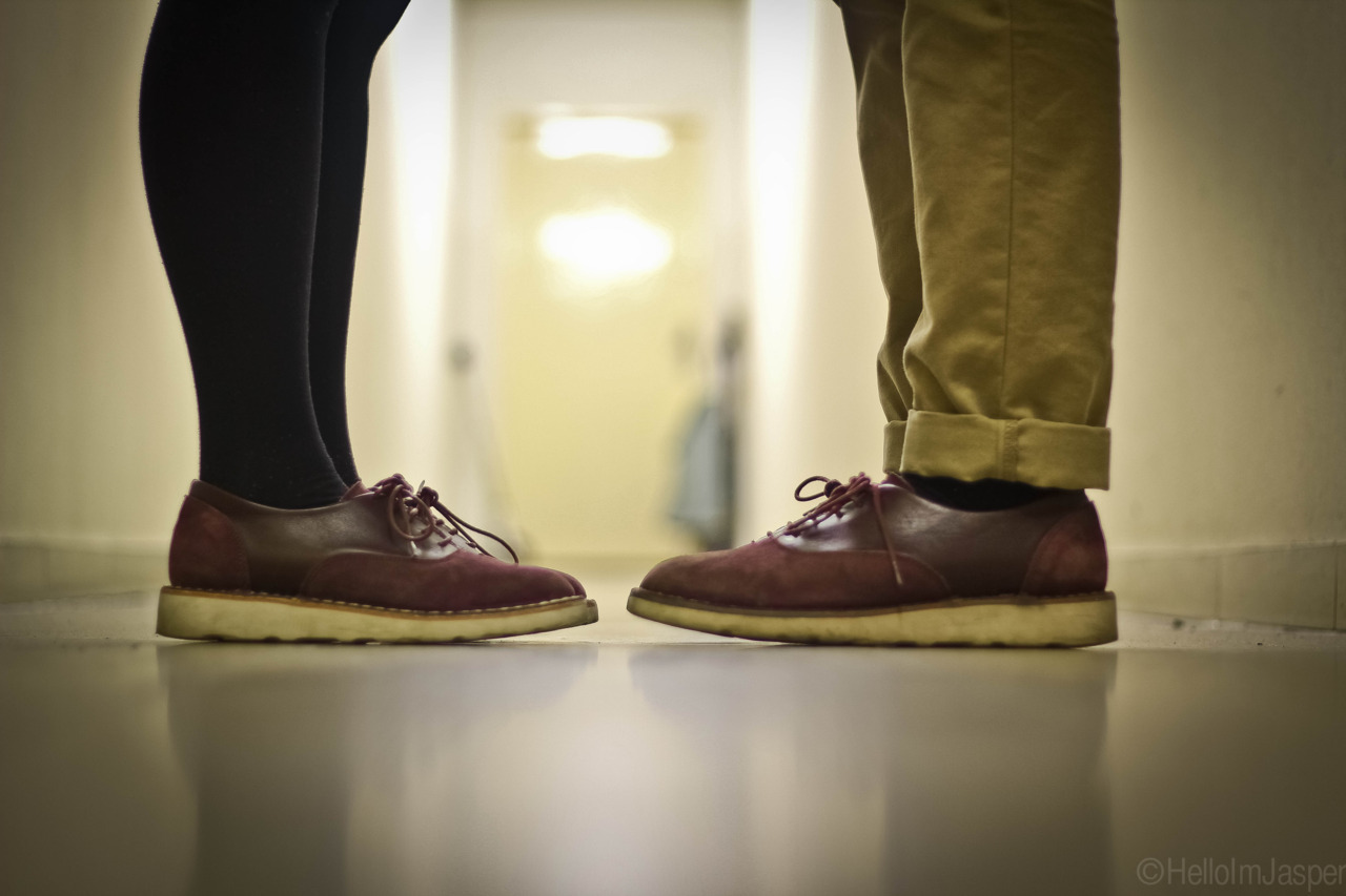 Deepsearch Oxford Burgundy. His & Hers.