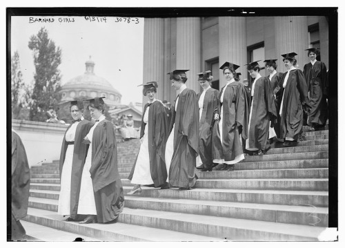 Barnard Commencement 1914 (Library of Congress)