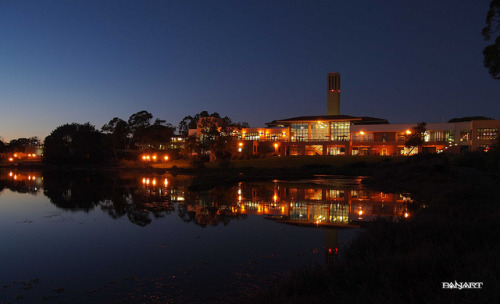fortunatelyy:  UCEN from the Lagoon-UCSB by > PanArt < on Flickr. take me there akfj;ds  sometimes I forget how beautiful my campus is…