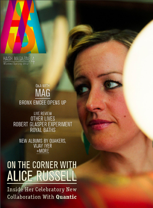 New Issue of HASH Magazine has launched.   (A)LIVE AT LAST!